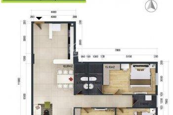 Cho thuê 2 căn hộ Cityland Phan Văn Trị, Gò Vấp 1 phòng và 3 phòng