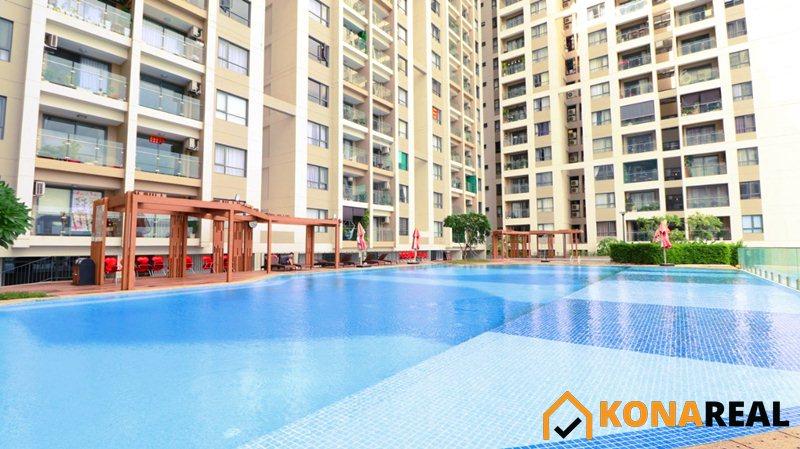 Hồ bơi Chung cư The Gold View Bến Vân Đồn quận 4