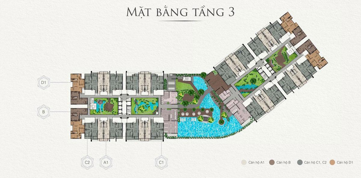 mat bang tang 3 can ho topaz twins - DỰ ÁN CẲN HỘ TOPAZ TWINS BIÊN HÒA