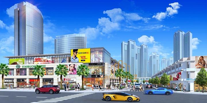Mega City 2 có ngôn ngữ thiết kế hiện đại hướng tới một khu đô thị đẳng cấp