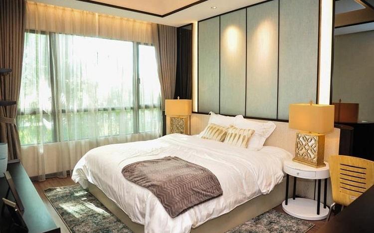 Phòng ngủ căn hộ mẫu dự án The View Riviera Point